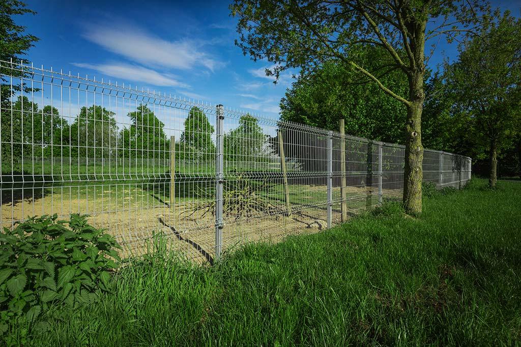 Aufmass der Zaunlänge und Planung