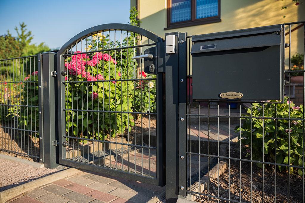fünf wichtigsten Merkmale der Gartentür aus Doppelstabmatten