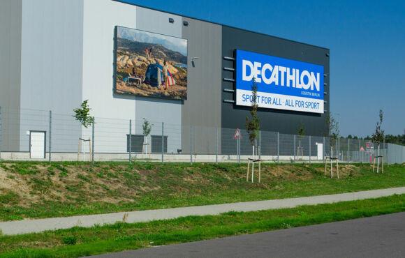 Projekt 38 – Doppelstabmatten für Decathlon-Lager