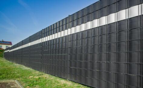 Projekt 39 – Sichtschutz Doppelstabmatten für Firmenobjekt