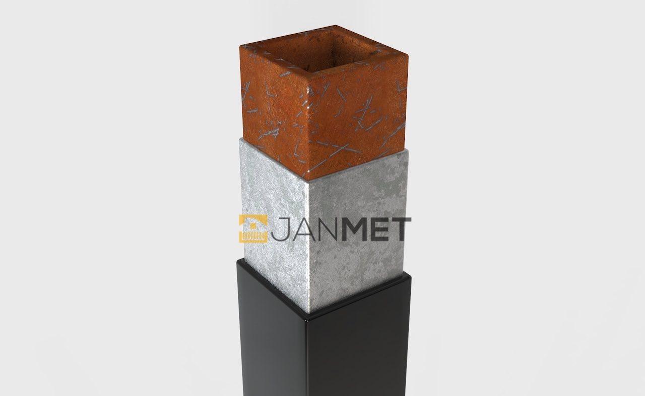 Stahlpfosten - Querschnitt