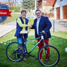 Erste Fahrräder an JANMET Kunden vergeben